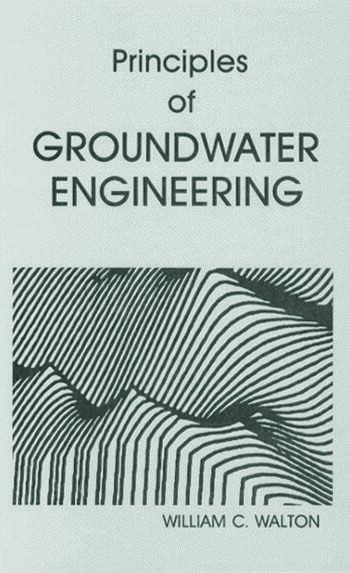 Principles of Groundwater Engineering book cover