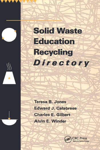 Solid Waste Education Recycling Directory book cover
