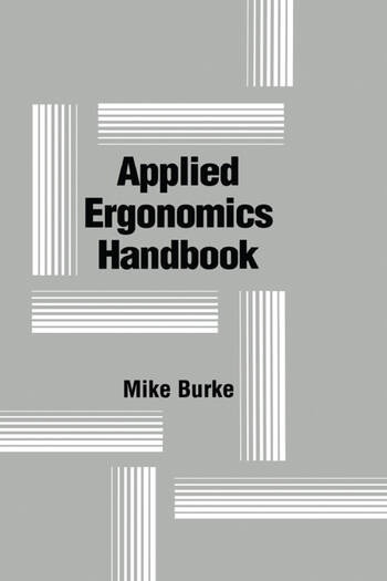 Applied Ergonomics Handbook book cover