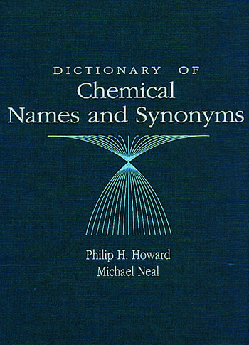 Dictionary of Chemical Names and Synonyms book cover