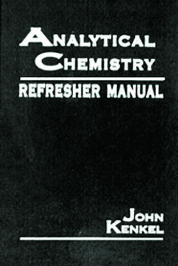 Analytical Chemistry Refresher Manual book cover