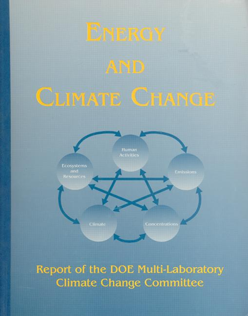 Energy and Climate Change book cover