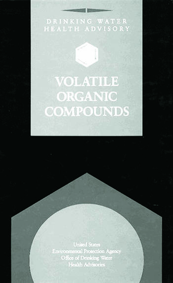Drinking Water Health Advisory Volatile Organic Compounds book cover