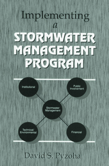 Implementing a Stormwater Management Program book cover