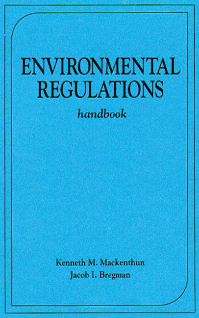 Environmental Regulations Handbook book cover