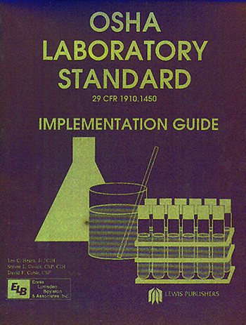 Osha Laboratory Standard - Implementation Guide book cover