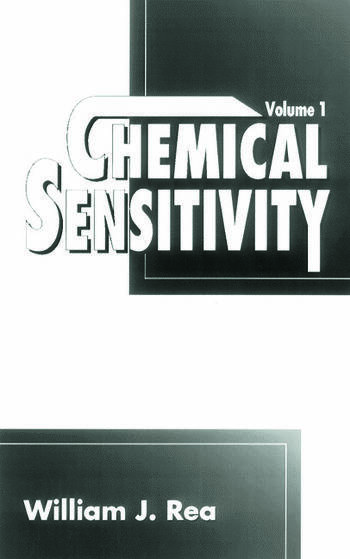 Chemical Sensitivity, Volume I book cover