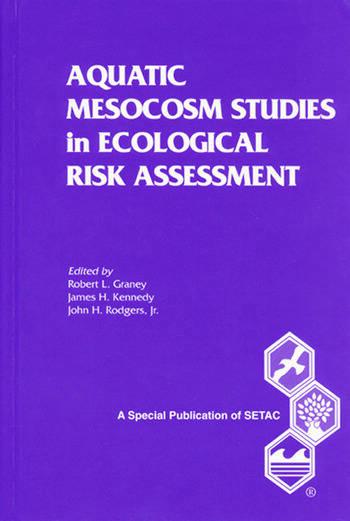 Aquatic Mesocosm Studies in Ecological Risk Assessment book cover