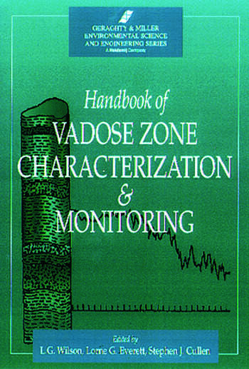 Handbook of Vadose Zone Characterization & Monitoring book cover