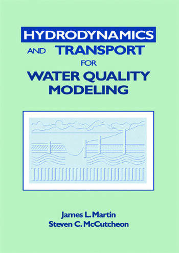 Hydrodynamics and Transport for Water Quality Modeling book cover