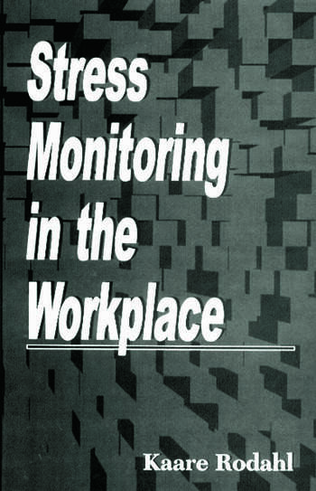Stress Monitoring in the Workplace book cover