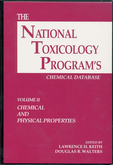 The National Toxicology Program's Chemical Database, Volume II book cover