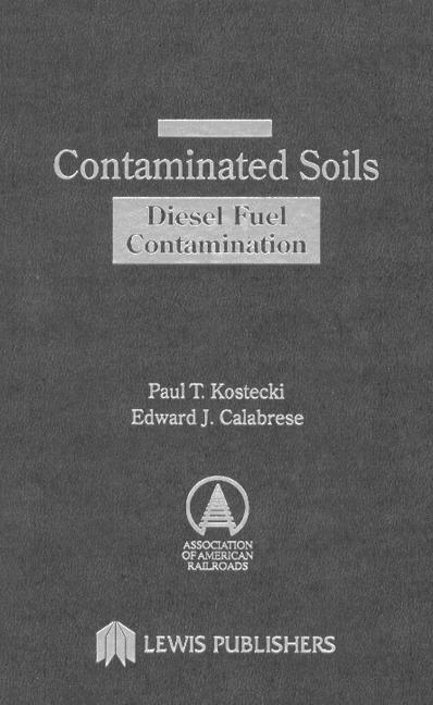 Contaminated Soils Diesel Fuel Contamination book cover