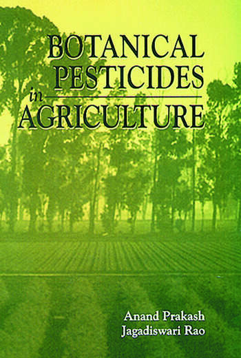 Botanical Pesticides in Agriculture book cover
