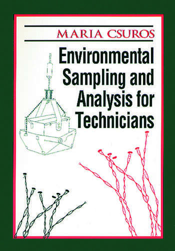 Environmental Sampling and Analysis for Technicians book cover