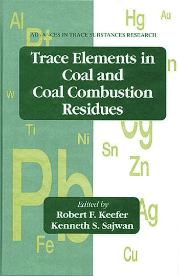 Trace Elements in Coal and Coal Combustion Residues book cover
