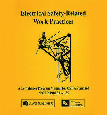 Electrical Safety-Related Work Practices OSHA Manual book cover