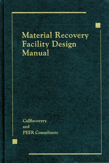 Material Recovery Facility Design Manual book cover