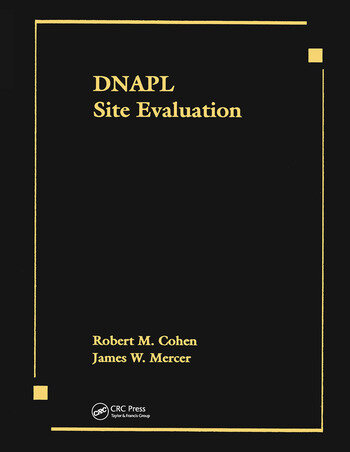 DNAPL Site Evaluation book cover