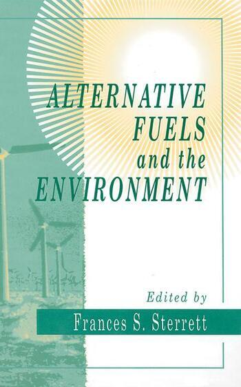 Alternative Fuels and the Environment book cover