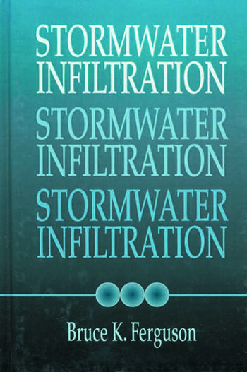 Stormwater Infiltration book cover