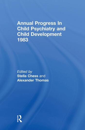 1983 Annual Progress In Child Psychiatry book cover
