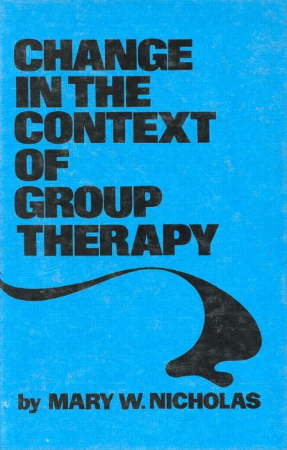 Change In The Context Of Group Therapy book cover