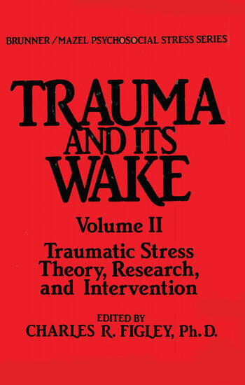 Trauma And Its Wake book cover