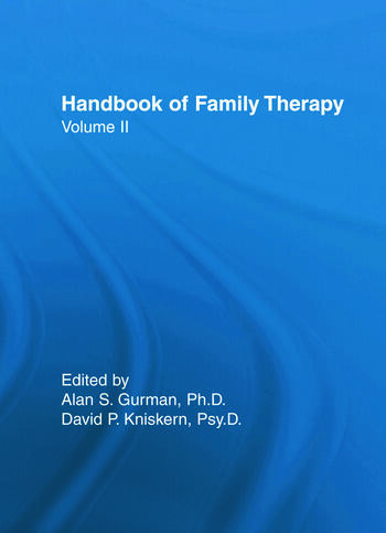Handbook Of Family Therapy book cover