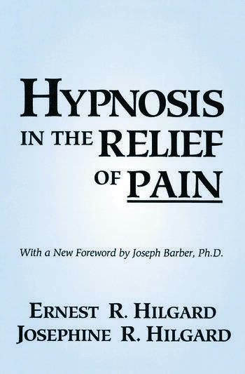 Hypnosis In The Relief Of Pain book cover