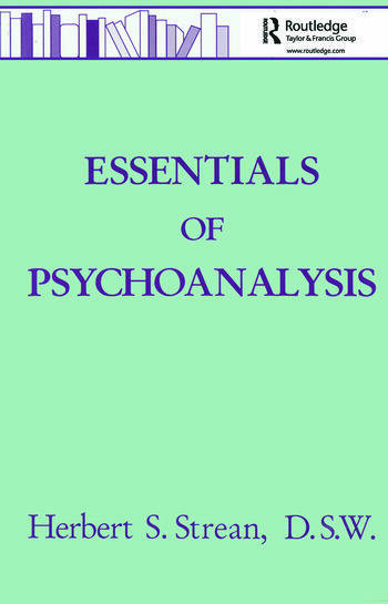 Essentials Of Psychoanalysis book cover
