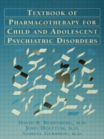 Pocket Guide For The Textbook Of Pharmacotherapy For Child And Adolescent psychiatric disorders book cover