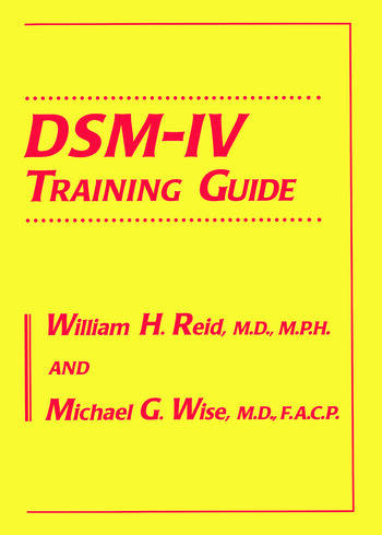 DSM-IV Training Guide book cover