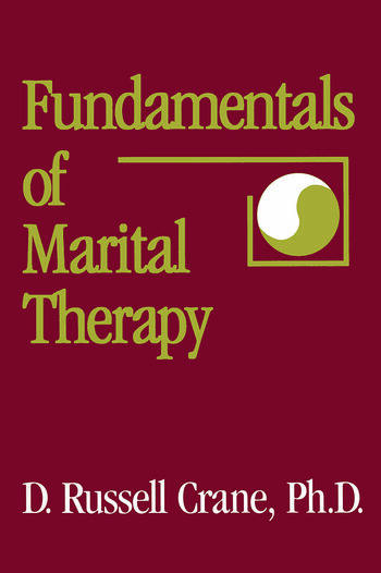 Fundamentals Of Marital Therapy book cover