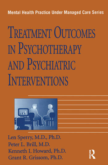 Treatment Outcomes In Psychotherapy And Psychiatric Interventions book cover