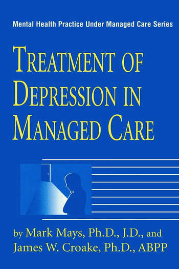 Treatment Of Depression In Managed Care book cover