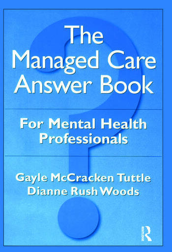 The Managed Care Answer Book book cover
