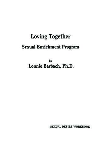 Sexual Desire Workbook book cover