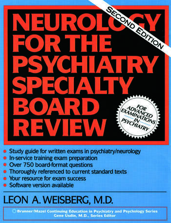 Neurology For The Psychiatry Specialist Board book cover