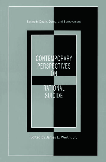 Contemporary Perspectives on Rational Suicide book cover