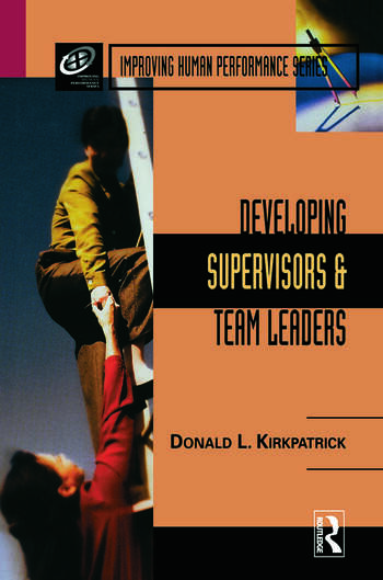 Developing Supervisors and Team Leaders book cover