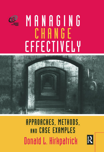Managing Change Effectively book cover