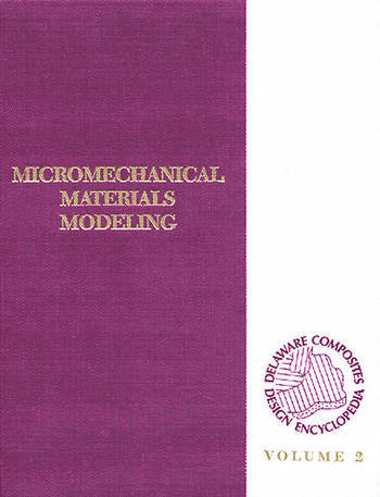 Delaware Composites Design Encyc Micromechanical Materials Model, Volume II book cover