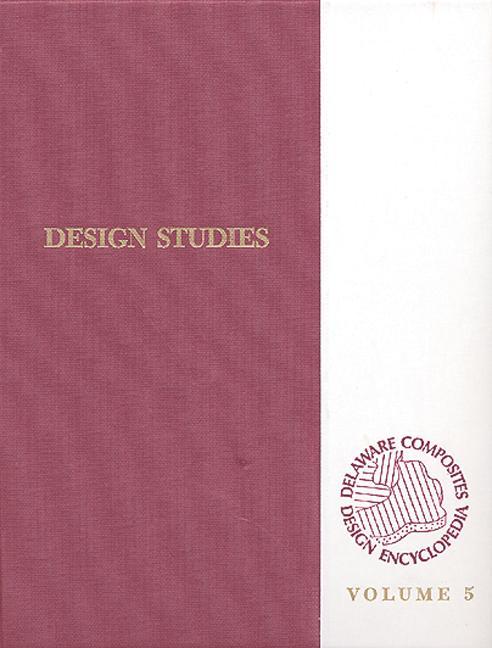 Delaware Composites Design Encyclopedia Design Studies Volume V book cover