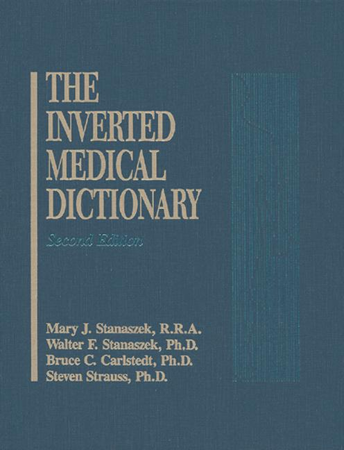 Inverted Medical Dictionary, Second Edition book cover
