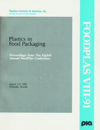 Plastics in Food Packaging Conference book cover