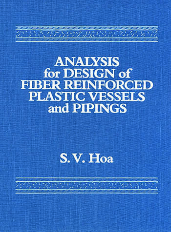 Analysis for Design of Fiber Reinforced Plastic Vessels book cover