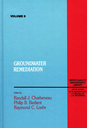 Groundwater Remediation, Volume VIII book cover