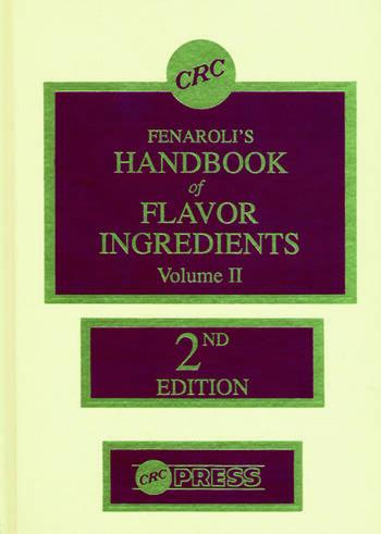 Handbook of Flavor Ingredients, Volume II book cover