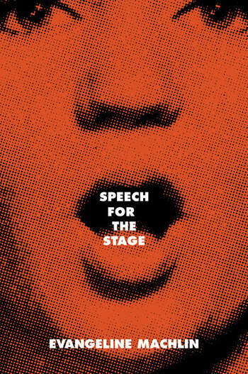 Speech for the Stage book cover